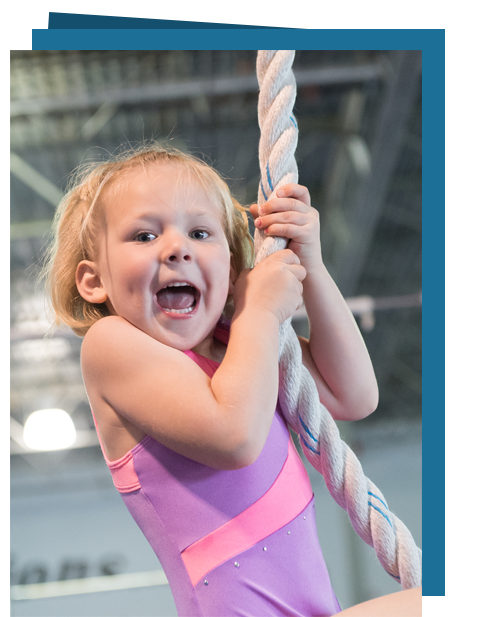 Happy Rope Gymnast